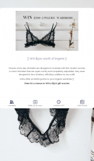 Forever and a day – Win $500 Worth of Lingerie ⭑ (prize valued at $500)