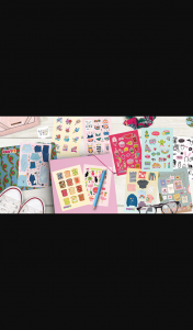 Girl-comau – Win One of 20 Sticker Packs From PosTicket Sticker Club (prize valued at $50)