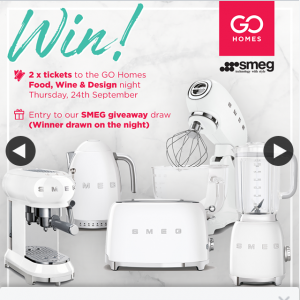 Go Homes – Win Two Tickets to The Night (prize valued at $2,000)