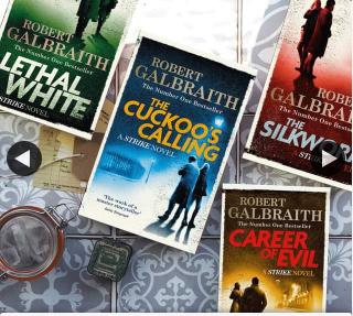 Hachette Books – Win || a Cormoran Strike Series Pack From Robert Galbraith