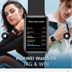 Huawei Mobile – Win The All-New #huaweiwatchfit