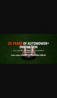 Husqvarna – Win Your Very Own Limited Edition Automower® By Simply Telling Us In 25 Words Or Less Why It Would Be Perfect for Your Garden (prize valued at $3,299)