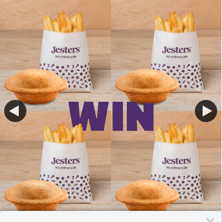 Jesters Australia – Win 4 Steak & Stout Pies & 4 Snack Chips to Share With The Whole Family
