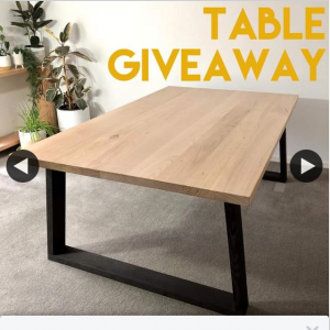 Jim and James – Win a Table