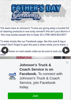 Johnson's Truck & Coach Service – Win a Bucket Full of Cleaning Products Just In Time for Father's Day