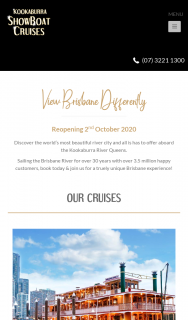 Kookaburra River Queen – Win Unlimited Cruises for a Month