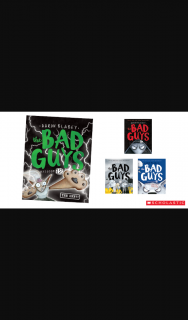 Kzone – Win The Bad Guys Book Pack (prize valued at $1,023)