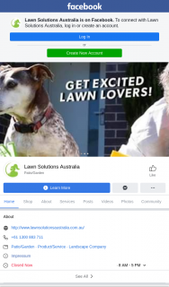 Lawn Solutions Australia- Great Australian Lawn off – Win a $500 Bunnings Voucher (prize valued at $500)