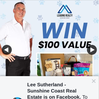 Lee Sutherland Sunshine Coast Real Estate – Win Your Kitty Will Be Spoilt With Treats (prize valued at $100)