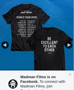 Madman Entertainment – Win a Bill & Ted T Shirt