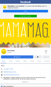 MamaMag – Win 1 of 6 Prize Packs Valued at $75 Each (prize valued at $75)