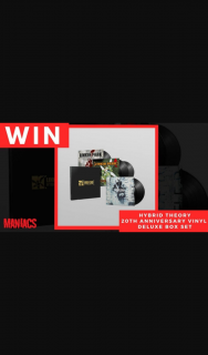 """Maniacs – """"win a 20th (prize valued at $140)"""