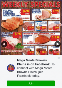 Mega Meats Browns Plains – Win a $200 Store Voucher (prize valued at $200)