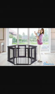 Mouths of Mums – Win a Dreambaby Brooklyn Converta Play-Pen Gate