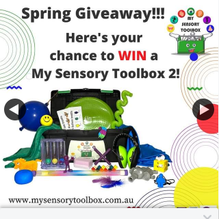 My Sensory Toolbox – Over $400 Worth of Sensory (prize valued at $400)