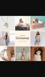 New Mama – Win Prize Pack for One Lucky Family Valued at $3575 (prize valued at $3,575)