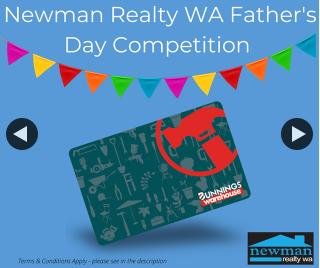 Newman Realty WA – Win a $100 Bunnings Voucher