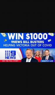 9 News VIC – Win $1000 9news Bill Busters