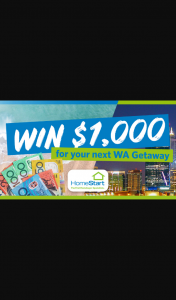 Nova 93.7 – Win $1000 for Your Next Wa Getaway (prize valued at $1,000)