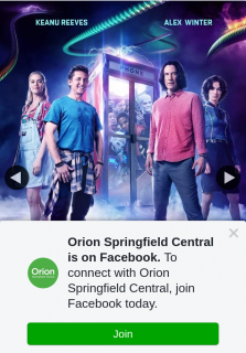 Orion Springfield Central – Win a Double Pass to See Bill & Ted Face The Music
