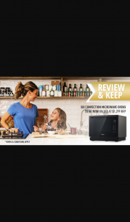 Panasonic – Win 1 of 6 4-in-1 Convection Microwave Ovens (prize valued at $7,794)