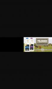Paris Creek Farms – Win $5000 Plus Weekly $200 Prizes When You Buy Paris Creek Farms Organic Milk (prize valued at $7,400)