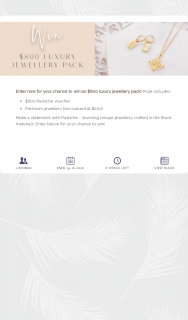 Pastiche – Win an $800 Luxury Jewellery Pack (prize valued at $800)