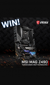 PC Case Gear – Win an Msi Mag Z490 Tomahawk Motherboard