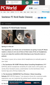 PC World – Win One of Three of Their State-Of-The-Art HeaDouble Passhones (prize valued at $1,350)