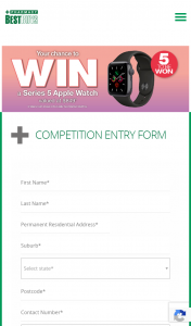 Pharmacy Best Buys – Win One (1) Apple Watch Series 5 44mm Space Grey Aluminium (prize valued at $849)