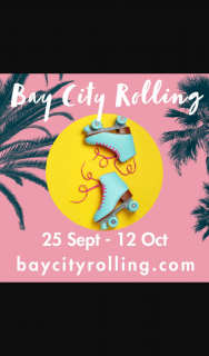 Play & Go Adelaide – Win Tickets to Bay City Rolling – school Holiday Roller-Skating at Glenelg (prize valued at $120)