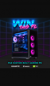 PLE Computers – Win a New Ple Custom Built Gaming Pc Featuring New Gigabyte Rtx 3080 Graphics