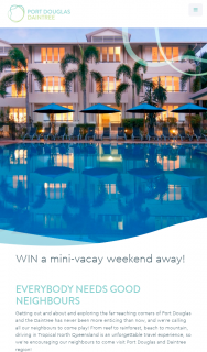 Port Douglas Daintree – The Below and Will Be (prize valued at $275)