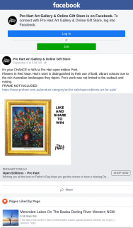 Pro Hart Art Gallery & online gift store – Win a Pro Hart Open Edition Print