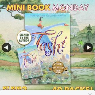 QBD Books – Win One of Forty Tashi Packs