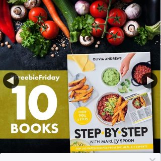 QBD Books – Win One of Ten Copies of Step By Step Cookbook