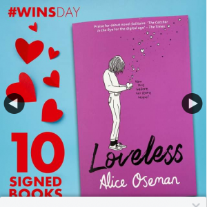 QBD Books – Win One of Ten Signed Copies of Loveless
