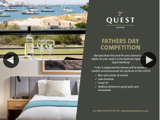 Quest Bunbury Apartment Hotels – Win 2 Nights Accommodation With Us