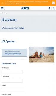 RACQ – Win a Jbl Speaker
