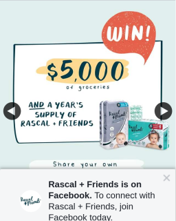 Rascal Friends – Win $5000 of Groceries and 1 Year's Supply of Rascal  Friends