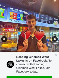 Reading Cinemas West Lakes – Win a Double Pass to See Broken Hearts Gallery