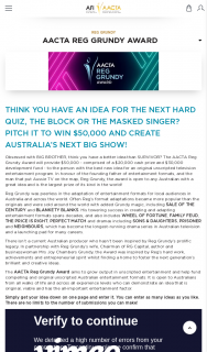 Reg Grundy Award for a new tv show idea – Win $50000 and Create Australia's Next Big Show (prize valued at $50,000)