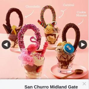 San Churro Midland Gate – Win a Free Loopy Sundae and Tell Us Why
