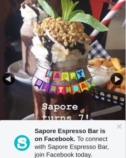 Sapore Espresso Bar – Win Shake Date for 4