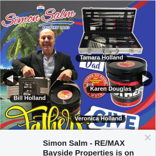 Simon Salm Re-Max Bayside Properties – In Comments