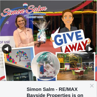 Simon Salm RE-Max Bayside Properties – Win a Family Pass Admits 3 Children to Bay Play Cleveland