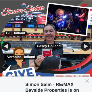 Simon Salm RE-Max Bayside Properties – Win a $60 Zone Bowling Gift Voucher to Keep The Kids Entertained These Holidays Can Also Be Used With Laser Tag at Loganholme Location