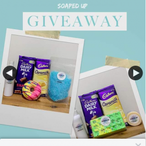 Soaped Up – Win 1/2 Product/chocolate Packs