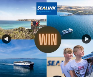 South Aussie With Cosi – Win a Family Trip on Sealink to Kangaroo Island??
