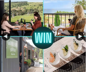 South Aussie With Cosi – Win a Two Night Getaway for 4 People to The Stunning Mclaren Vale & Fleurieu Coast??